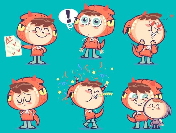 Really Good Character Design - Amazing Cute Cartoony Kid