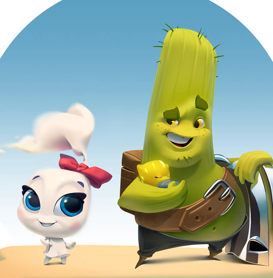Really Good Character Design - Cute 3D Characters