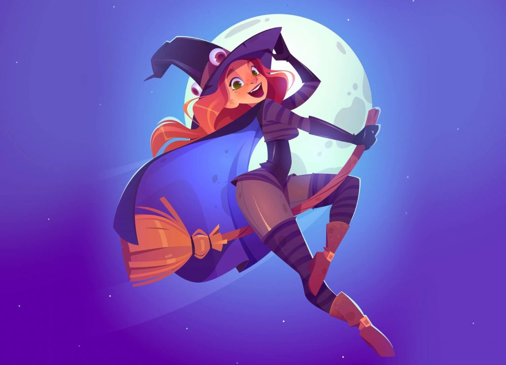 Really Good Character Design - Cute Good Witch
