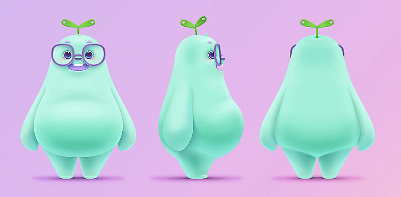 Really Good Character Design - Cute and Charming Example