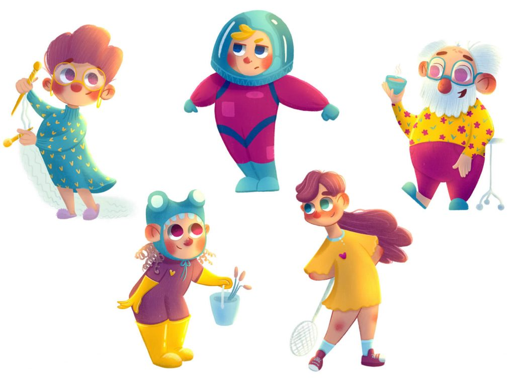 Really Good Character Design - Cartoon Style Characters for Books