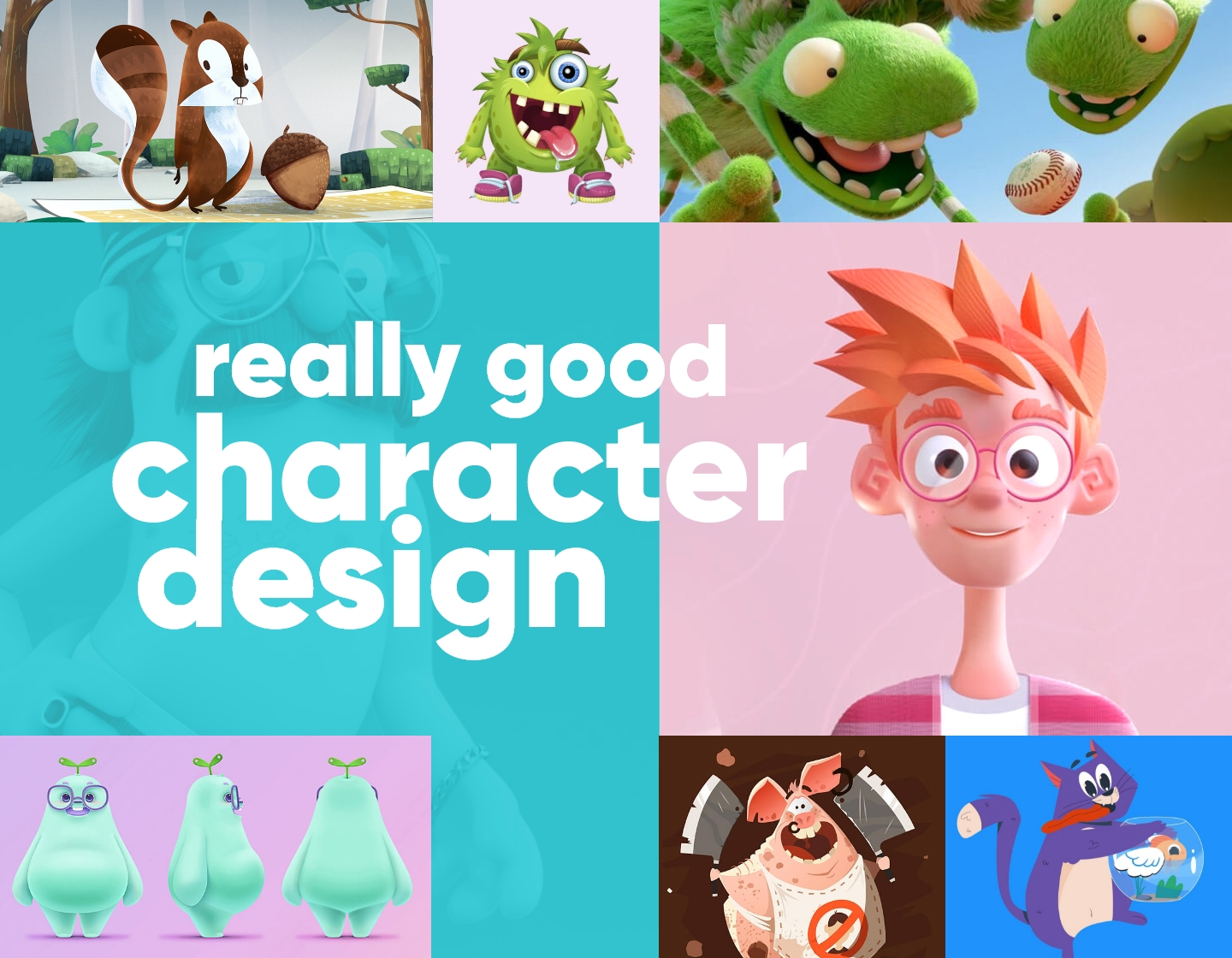 Really Good Character Design Examples