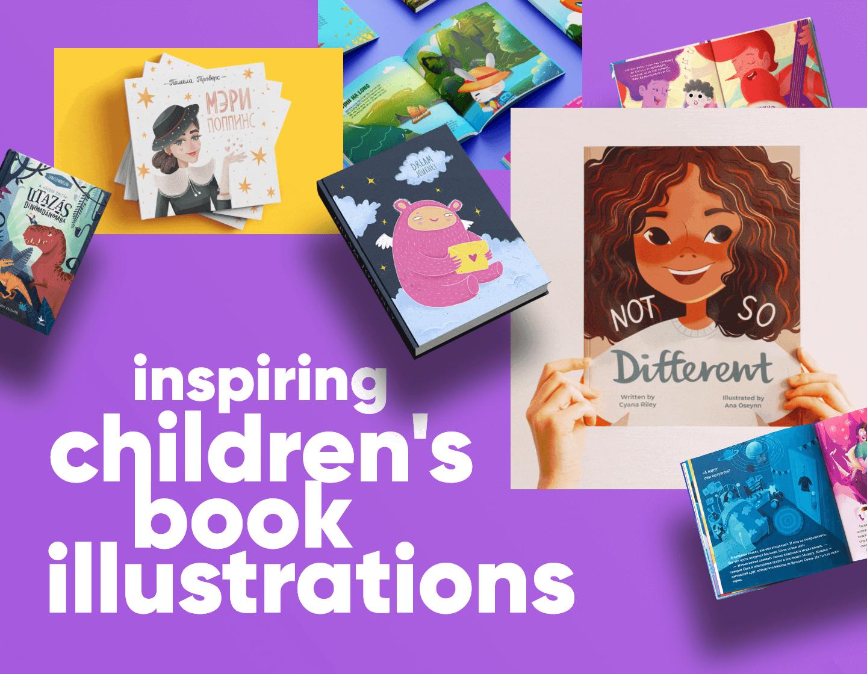 Children's Book Illustrations For Mega Inspiration