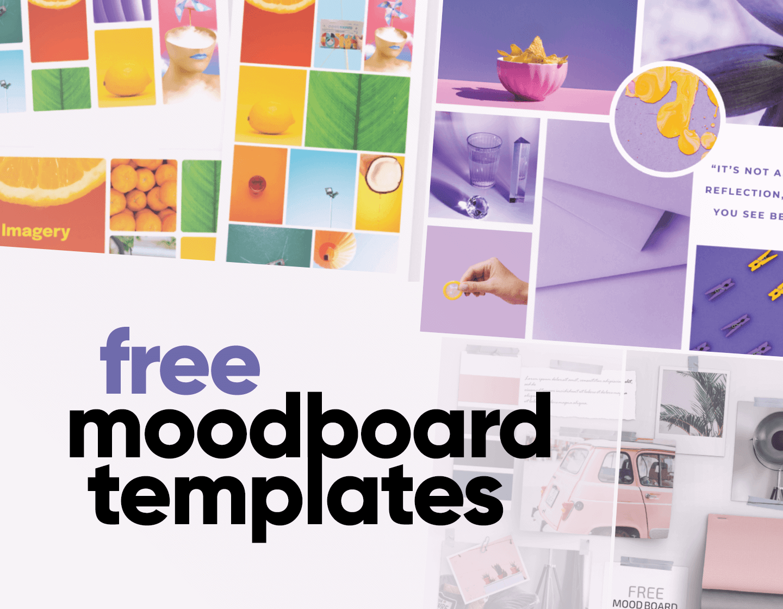 Free Moodboard Templates