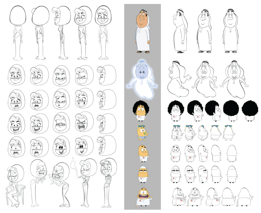 Character Design Example 16