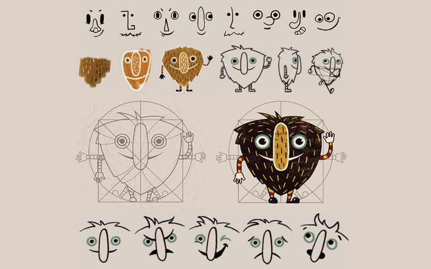 How to Design a Character: Character Design Example 02