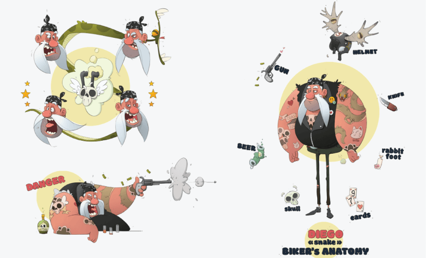 Character Design Example 21