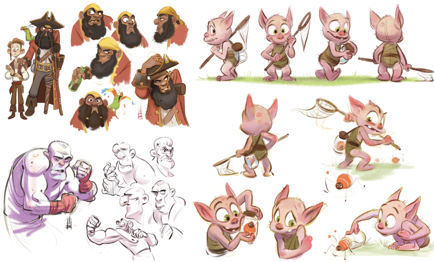Character Design Example 14