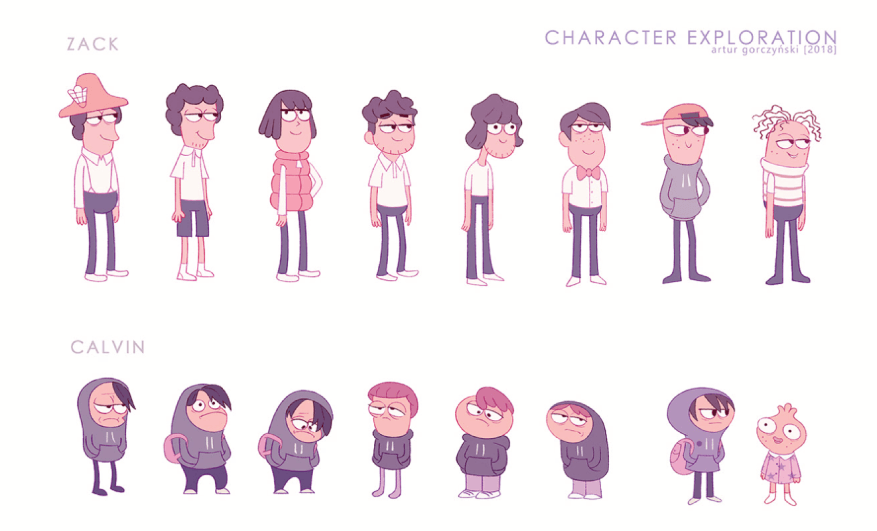 Character Design Example 06