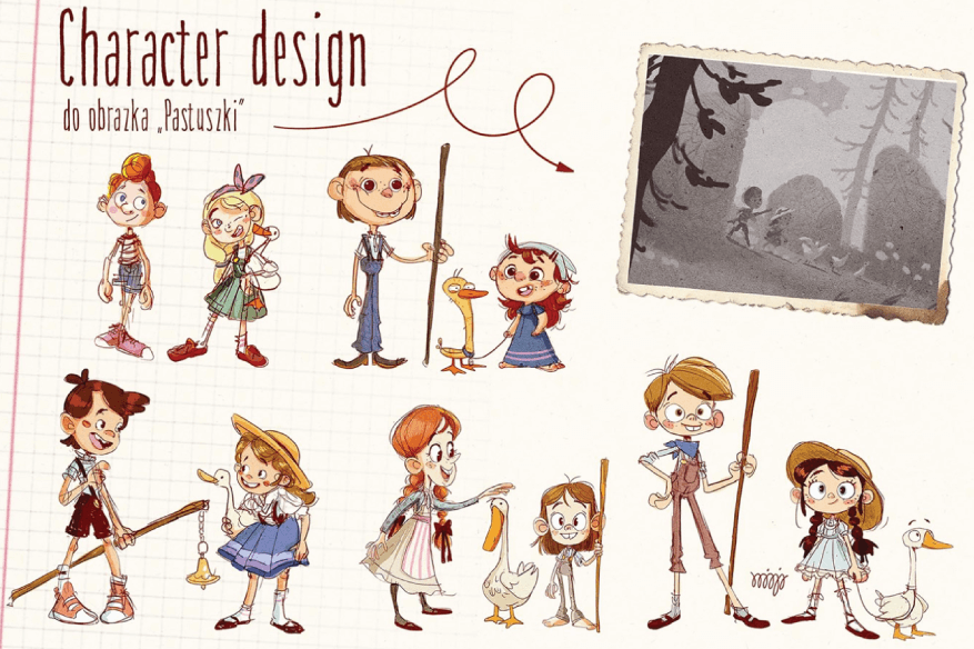 How to Design a Character: Character Design Example 01