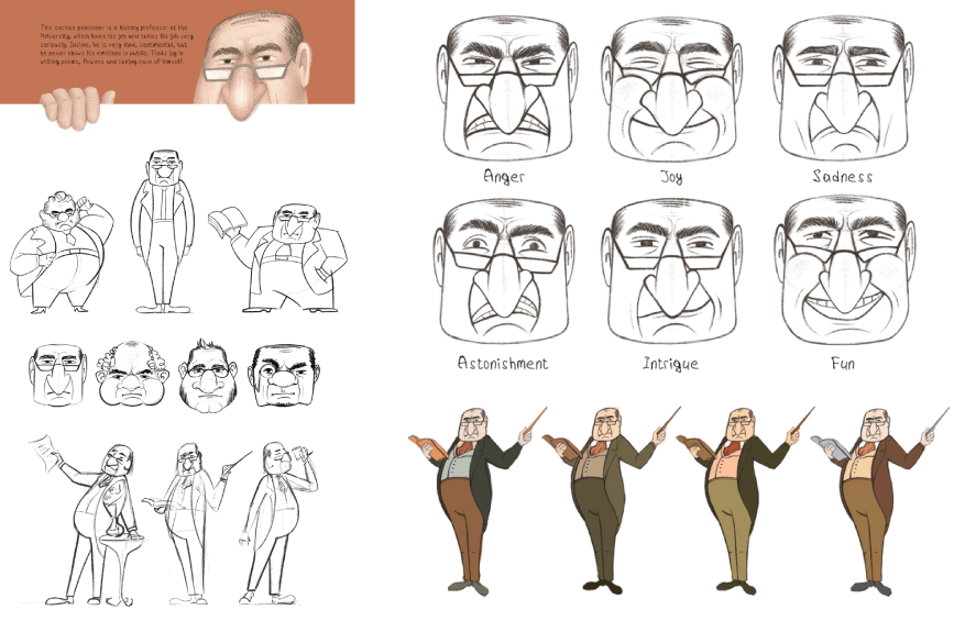 Character Design Example 11