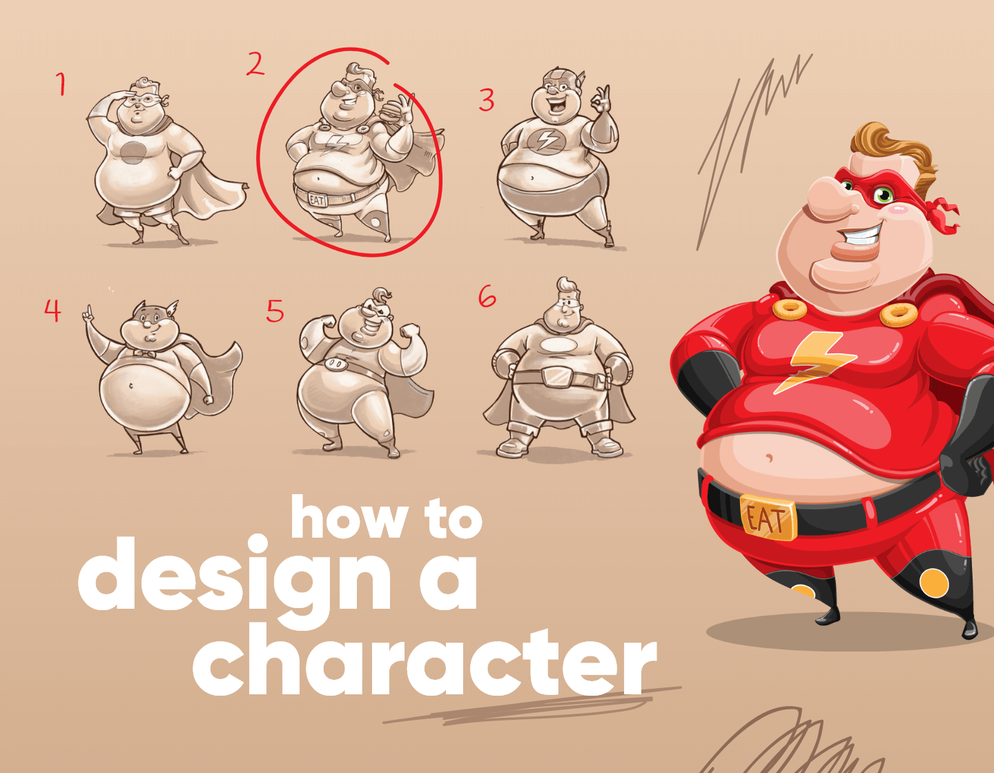 How to Design a Character: The Creator's Guide to Amazing Characters
