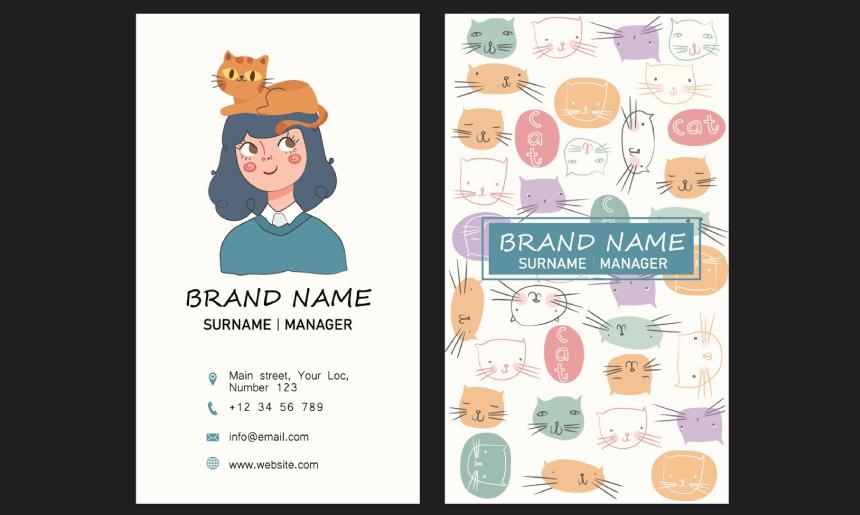 Business Card Cartoon Example 33