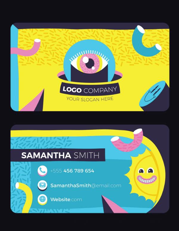 Business Card Cartoon Example 26