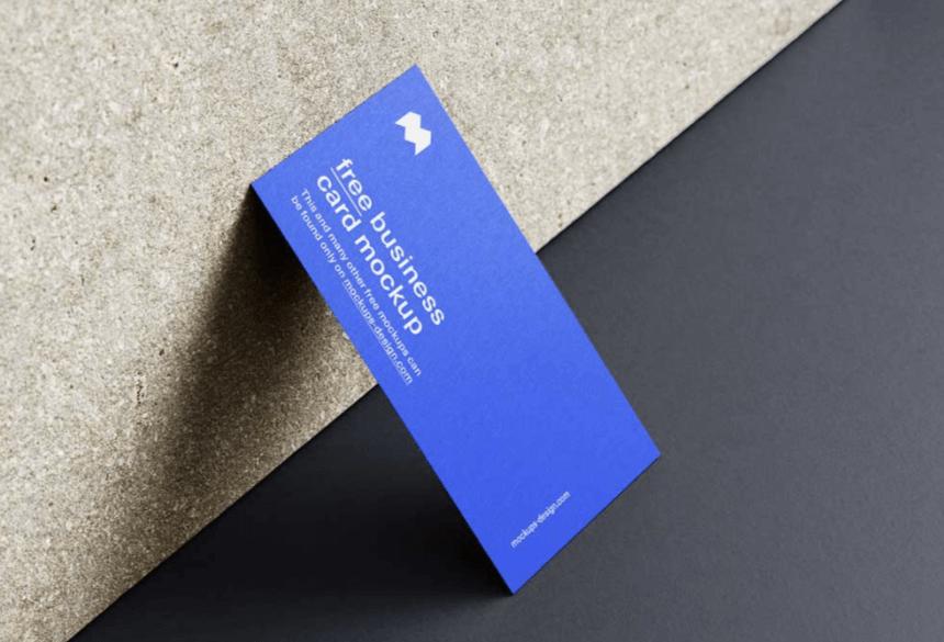Free Business Card Mockup PSD 26