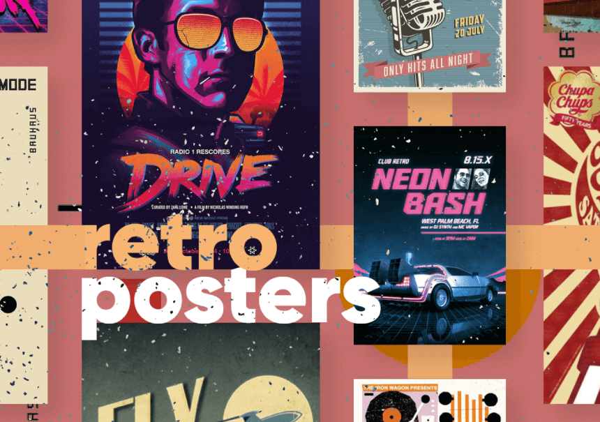 Really Good Designs Article: Retro Posters With Healthy Amount of Nostalgia