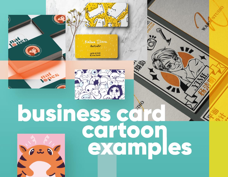 60 Business Card Cartoon Examples